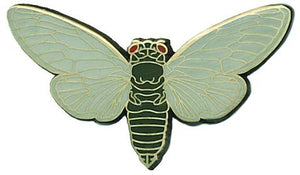 "Mattea's Hand ""Cicada"" Enamel Pin - Safe for kids and all natural"