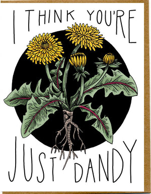 "Mattea's Hand ""Just Dandy"" Card - Safe for kids and all natural"