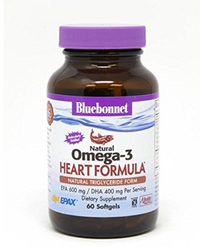 Bluebonnet Omega 3 Heart - Safe for kids and all natural