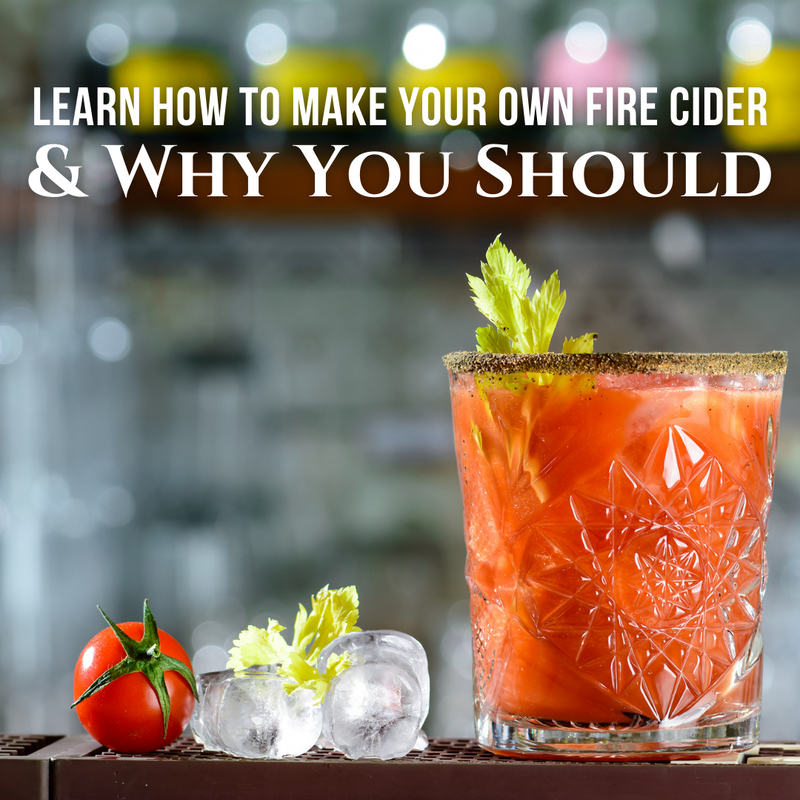 Learn How To Make Your Own Fire Cider and Why You Should