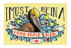 "Mattea's Hand ""Good Place"" Postcard - Safe for kids and all natural"