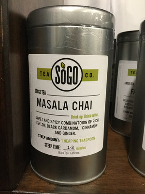 Red Stick- Masala Chai Tin - Safe for kids and all natural