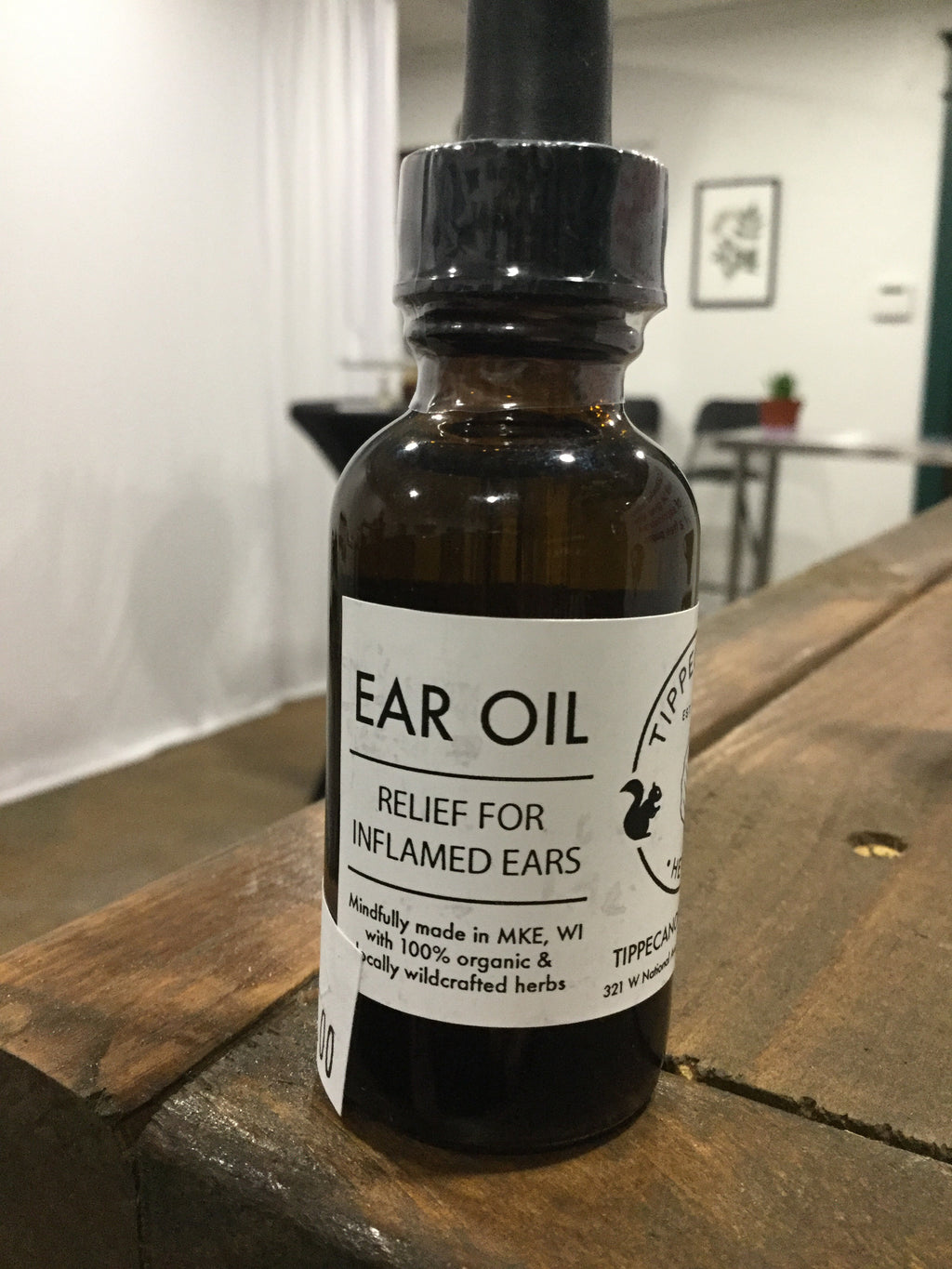Tippiecanoe Ear Oil - Safe for kids and all natural