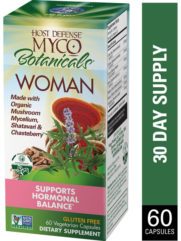 Myco Botanicals Woman Capsules 60 ct - Andi Lynn's Pure & Custom Formulary