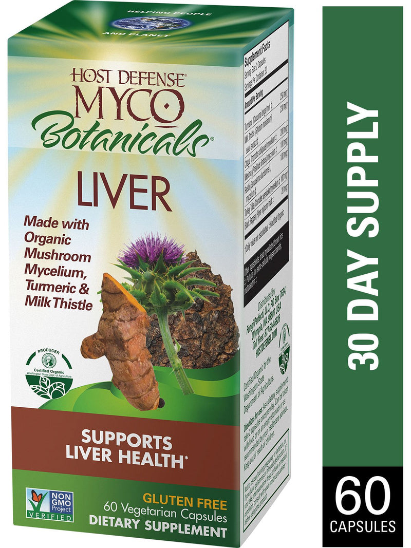 Myco Botanicals Liver Caps 60 ct - Andi Lynn's Pure & Custom Formulary