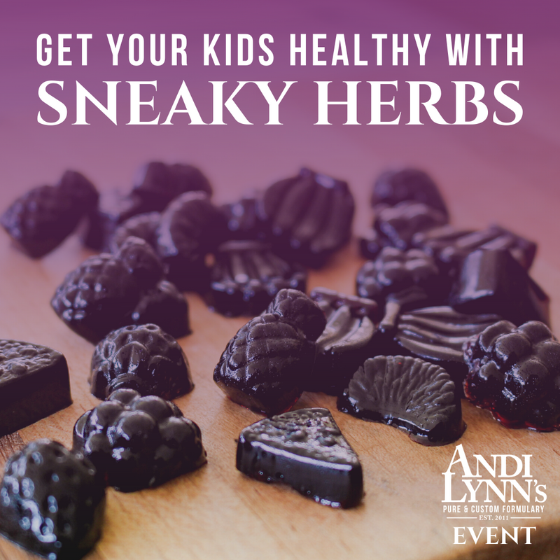 How to Keep Your Family Healthy and Sneak Herbal Remedies Into Their Gummies