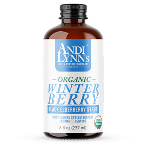 Andi Lynn's Winter Elderberry Syrup - Safe for kids and all natural