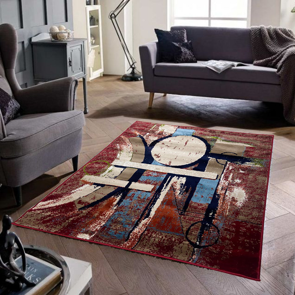 Modern Rug 3 By 5 Ft GN4
