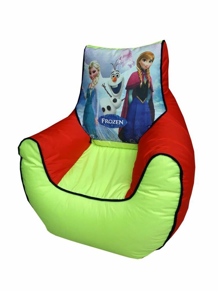 Frozen Kids Bean Bag Sofa