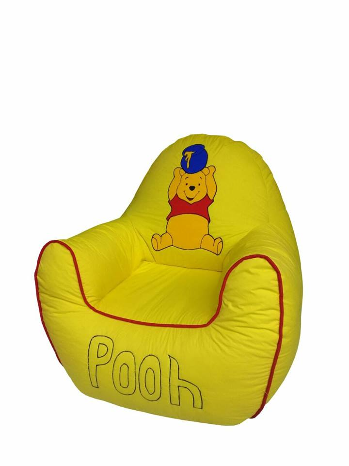 Pooh Kids Bean Bag Sofa