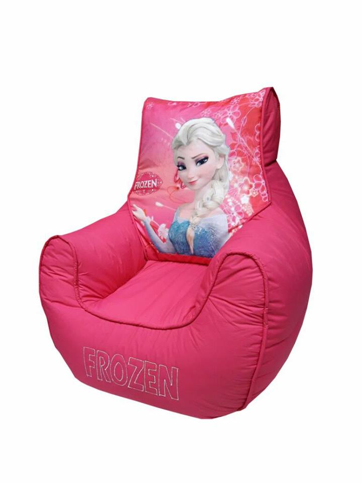 Princess Elsa Kids Bean Bag Sofa