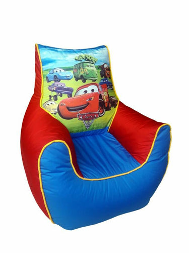Cars Kids Bean Bag Sofa