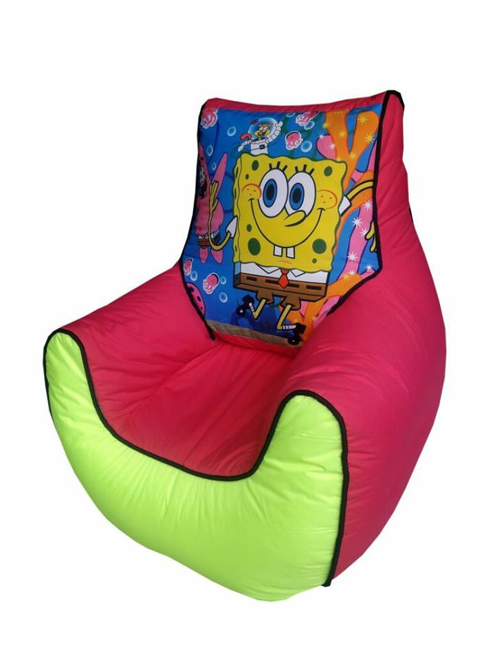 SpongeBob Kids Bean Bag Sofa