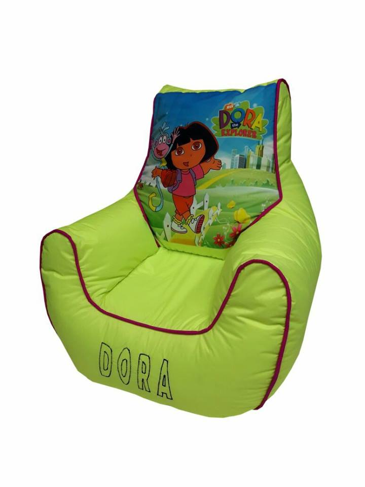 Dora Kids Bean Bag Sofa