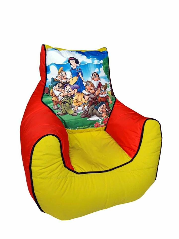 Snow White Kids Bean Bag Sofa