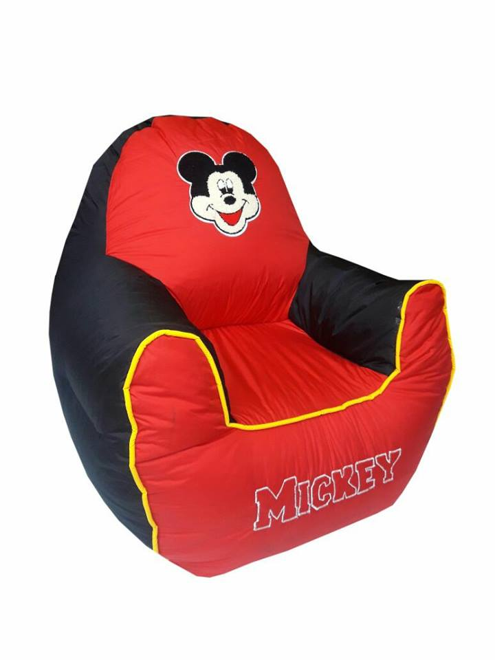 Mickey 02 Kids Bean Bag Sofa