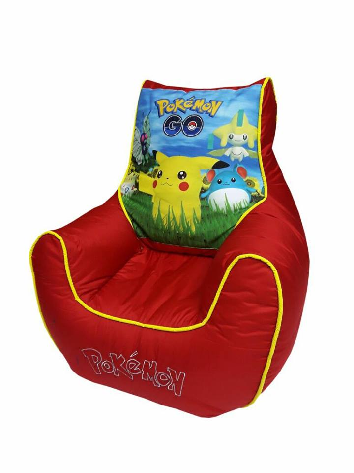 PokeMon Kids Bean Bag Sofa