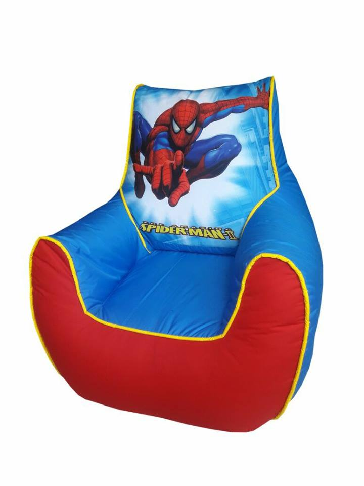 Spider Man Kids Bean Bag Sofa