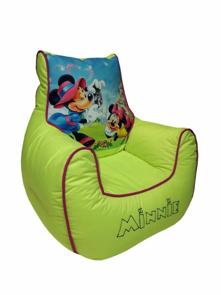 Minnie 2 Kids Bean Bag Sofa
