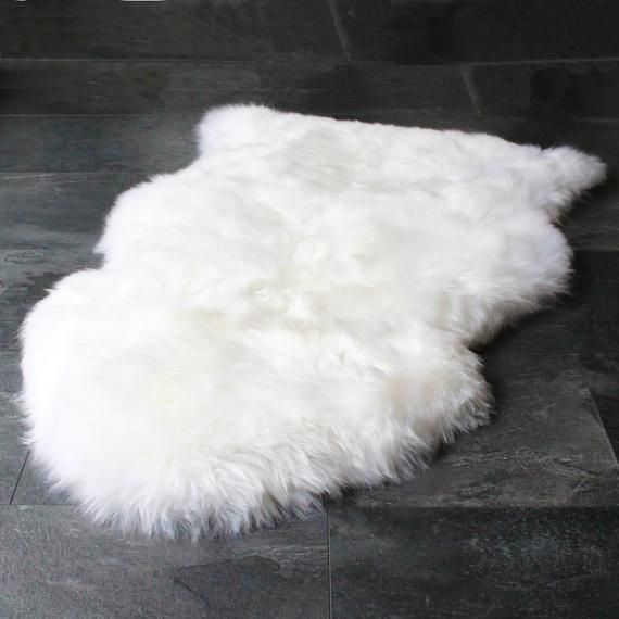 Puffy 4 by 6 Rug White