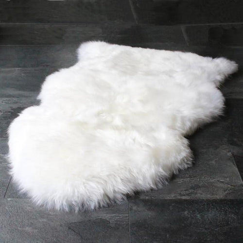 Puffy 3 by 5 Ft Rug White