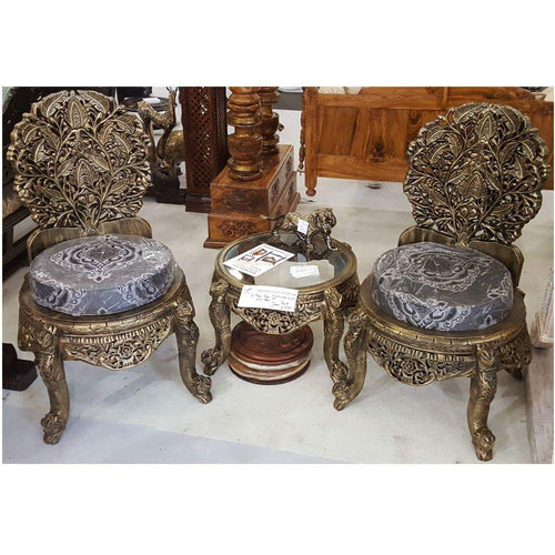 Elegant Chanioti Chairs and Table Set