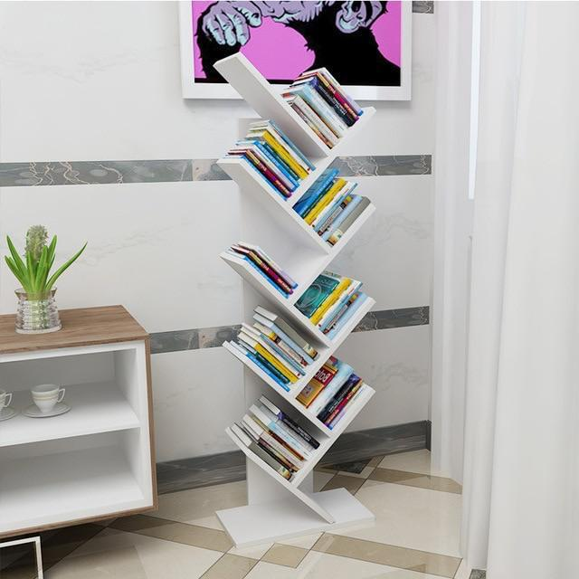 WHITE Tommy shelf Tree Bookshelf