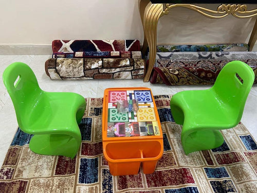 Kids 2 chair and Luddo Table