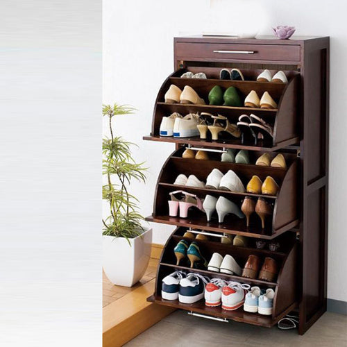 Curve Shoerack 3 shelf