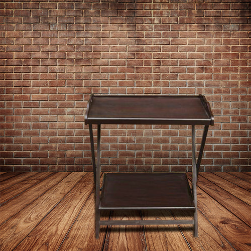 Dark Brown Folding Table