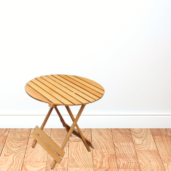 Beach Wood Folding Table