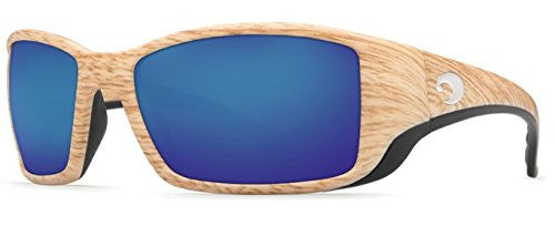 Costa Del Mar Sunglasses - Blackfin- Glass / Frame: Ashwood Lens: Polarized Blue
