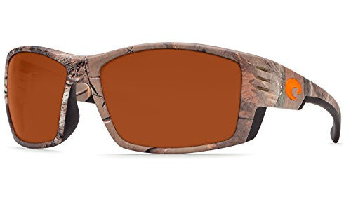 Costa Del Mar Cortez Sunglasses, Realtree Xtra Camo, Copper 580 Plastic Lens