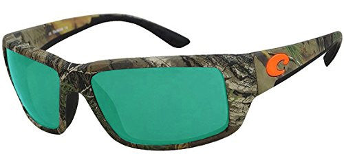 Costa Del Mar Fantail Sunglasses, Realtree Xtra Camo, Green Mirror 580 Plastic L