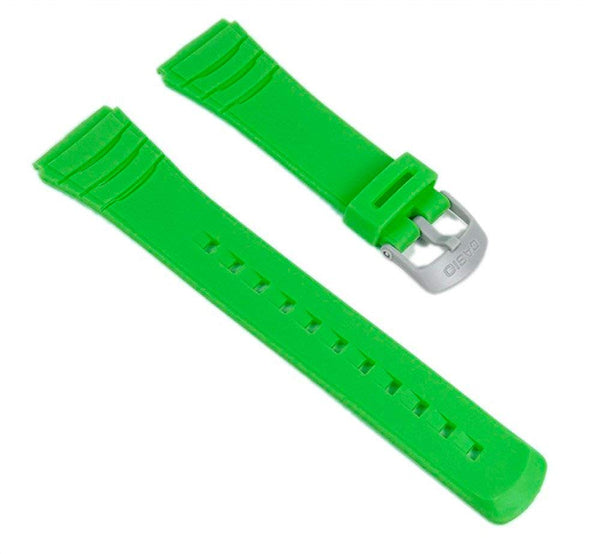 Casio watch strap watchband Resin Band green DBC-32C-3BEF DBC-32C