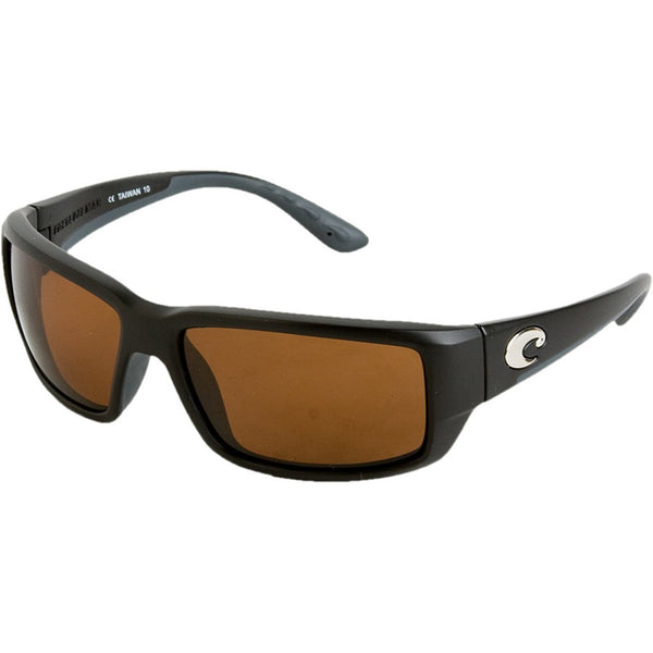 Costa Del Mar Fantail Polarized Sunglasses - Costa 580 Glass Lens Black/Copper,