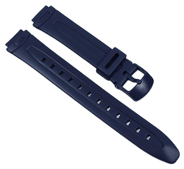 Casio watch strap watchband Resin Band dark Blue for LAW-21 LAW-20