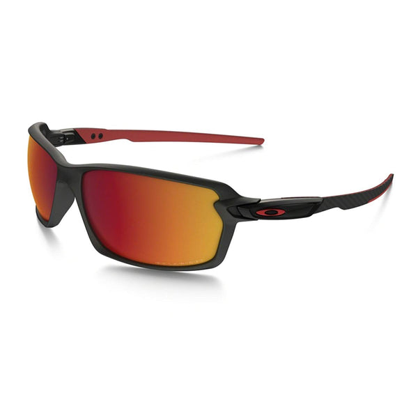 Oakley Men's Carbon Shift Polarized Iridium Rectangular Sunglasses