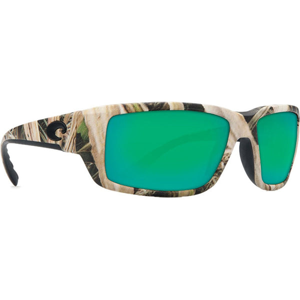 Costa Del Mar Fantail Sunglasses, Mossy Oak Shadow Grass Blades Camo, Green Mirr