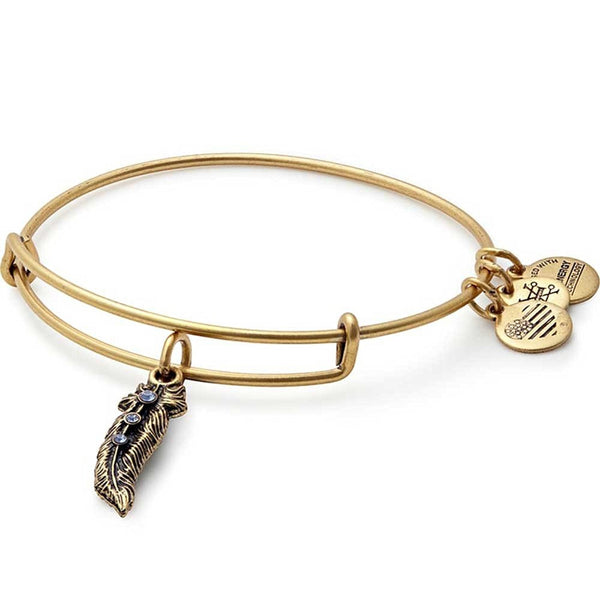 Alex and Ani Feather II Bangle Bracelet