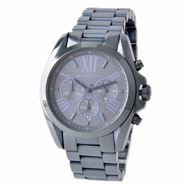 Michael Kors Oversized Bradshaw Blue Dial Stainless Steel Men's Watch MK 6248