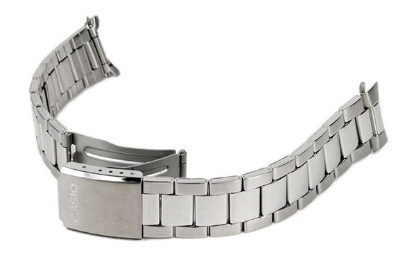 Casio watch strap watchband stainless Steel Band gray for MTP-1303D