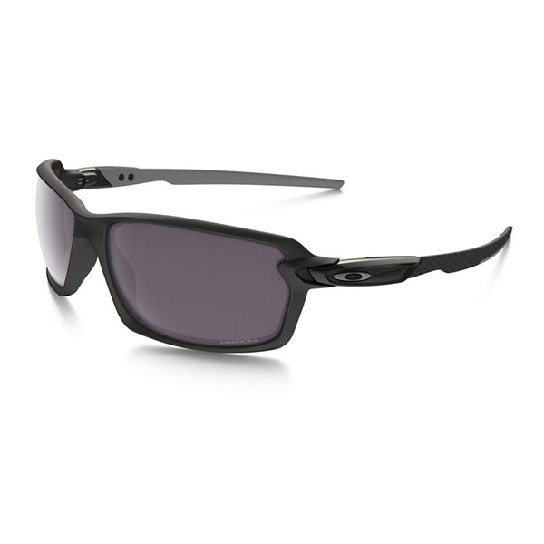 Oakley Men's Carbon Shift Polarized Iridium Rectangular Sunglasses, Matte Black with Prizm Daily Polarized, 62 mm