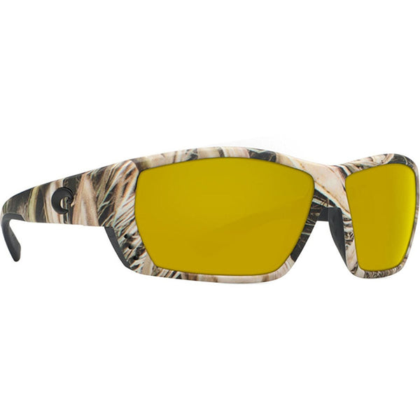 Costa Del Mar Tuna Alley Sunglasses, Mossy Oak Shadow Grass Blades Camo, Sunrise
