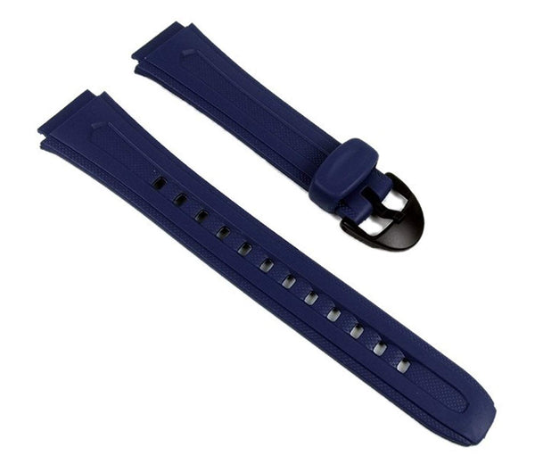 Casio watch strap watchband Resin Band dark Blue W-210-2AVW W-210