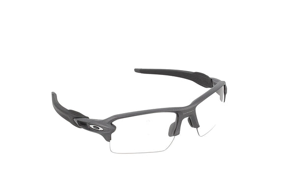 Oakley Flak 2.0 Xl Steel W Clear-To-Blk Photo ( OO9188-16 )