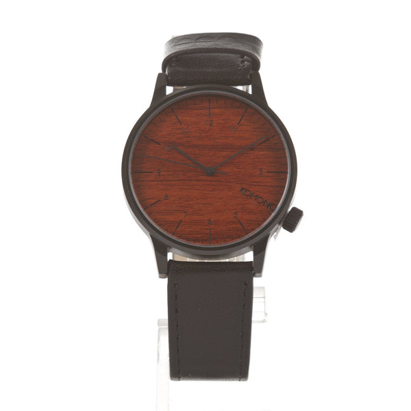 Komono Watch - Winston - Black Wood