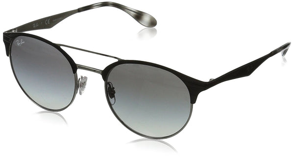 Ray-Ban Men's Double Bridge Round Sunglasses