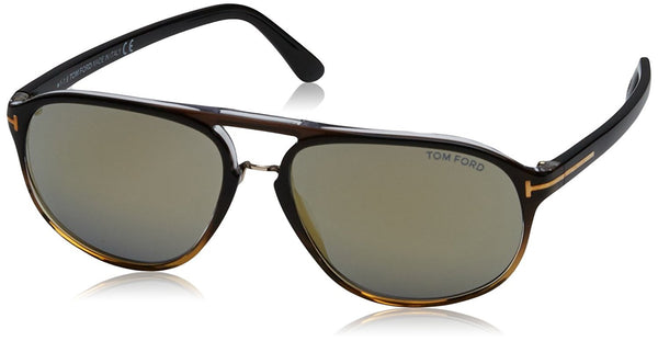 Tom Ford Sunglasses TF 447 Jacob Sunglasses 52B Tortoise 60mm