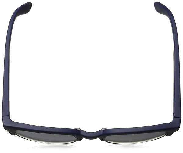 Carrera Ca5034s Rectangular Sunglasses, Blue Ruthenium/Gray Azure, 52 mm